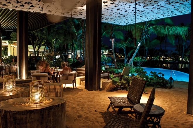 Laid back luxury at positivo sand bar puerto rico eats